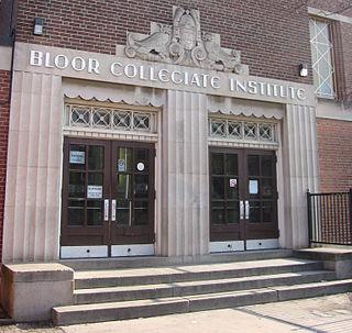 Bloor Collegiate Institute High school in Brockton Village, Toronto, Ontario, Canada