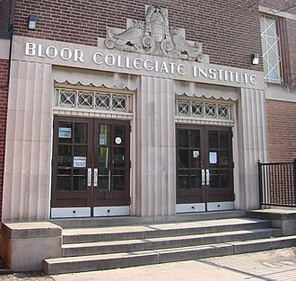 Brockton Village - Bloor Collegiate Institute is one of three public secondary schools in Brockton Village.