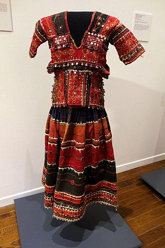 Banjara - Traditional Banjara dress consisting of kanchali (blouse) and phetiya (skirt)