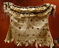 Blouse of bark cloth, Samoa, 1888 - Ethnological Museum, Berlin - DSC01299.JPG