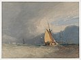 Boats off the Coast, Storm Approaching MET DP873397.jpg