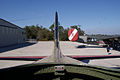 Boeing B-17G-85-DL Flying Fortress Nine-O-Nine Interior Nav Looking Back CFatKAM 09Feb2011 (14980828551).jpg