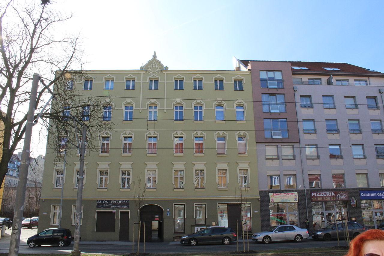 Filebohaterów Warszawy Avenue In Szczecin 4jpg Wikimedia Commons