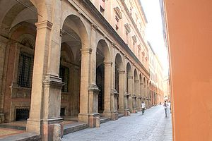 Metropolitan City of Bologna - Palazzo Malvezzi in Bologna, seat of the metropolitan city.