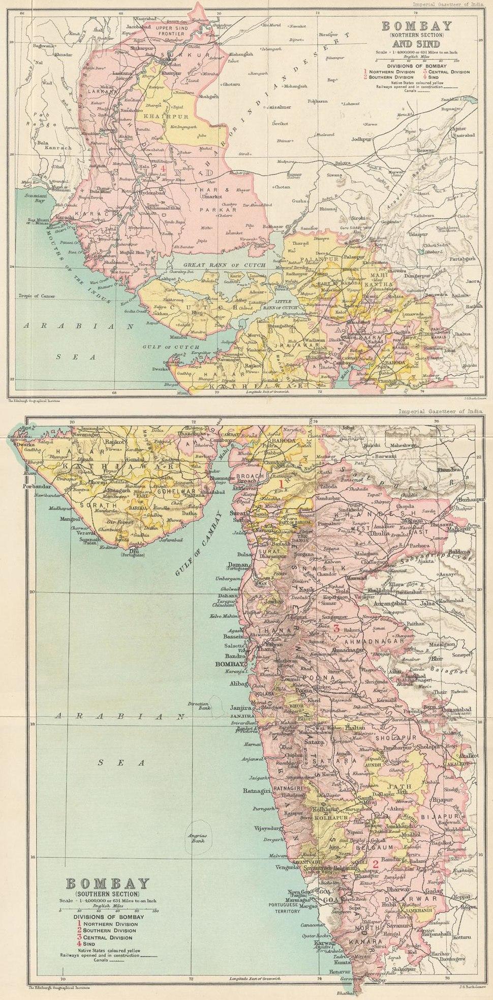 Bombay Prov 1909