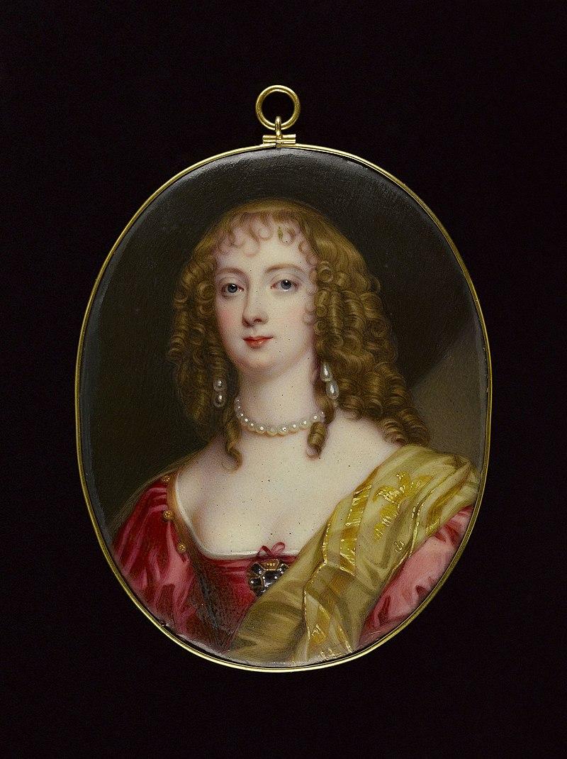 Bone, Henry Pierce - Portrait de la Comtesse de Bedford, d'après Anton Van Dyck - J787 - Musée Cognacq-Jay.jpg