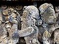 Borobudur - Divyavadana - 082 N, The Sky rains down Jewels (detail 3) (11706218874).jpg