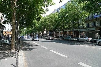 Landmarks in Paris - Boulevard des Capucines
