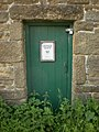 Boulsworth Hill Access Rangers meeting hut, Doorway - geograph.org.uk - 1360893.jpg