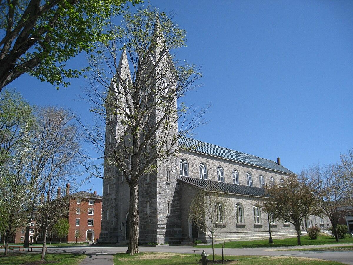 Bowdoin College Chapel - Bowdoin College - IMG 7793.JPG