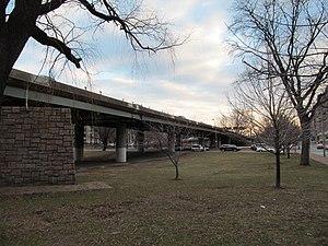 Bowker Overpass - Bowker Overpass at Commonwealth Avenue