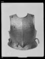 Bröstharnesk, 1600-talets första hälft - Livrustkammaren - 27969.tif