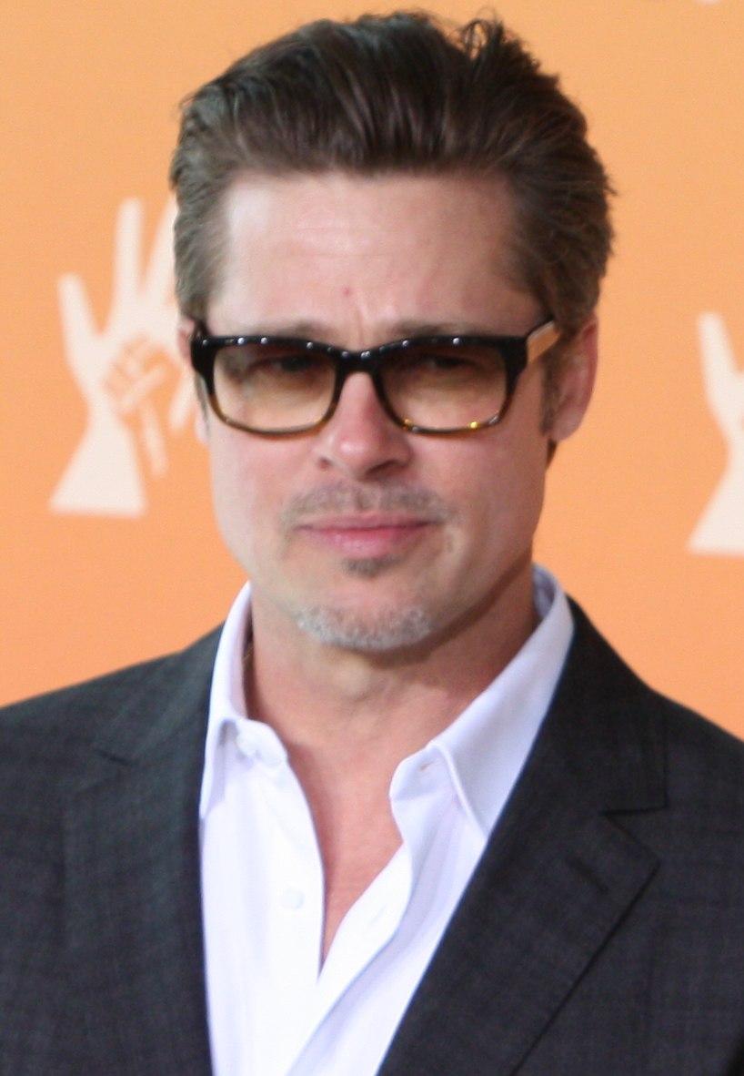 Brad Pitt June 2014 (cropped)