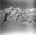 Brady Glacier and Mount La Perouse, icefall and icefield, September 12, 1973 (GLACIERS 5758).jpg