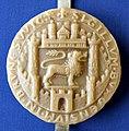 Braunschweig Stadtsiegel von 1231 Faksimileabdruck 2 11a A I 1 3 1231 7 (Stadtarchiv Braunschweig).JPG