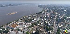 Brazzaville, vedere la pasăre