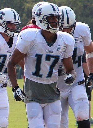 Brian Robiskie - Robiskie with the Tennessee Titans