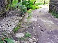 Brick paving beneath railway bridge. Castle-upon-Alun. - geograph.org.uk - 917636.jpg