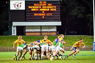 Sydney Rays - Image: Brisbane City versus North Harbour Rays NRC Round 8 (1)