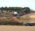 Britannia Pacific 70013 'Oliver Cromwell' steaming past Dead Man's Hill - geograph.org.uk - 1749170.jpg