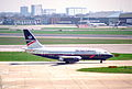 British Airways Boeing 737-236; G-BKYK@LHR;13.04.1996 (5216894881).jpg