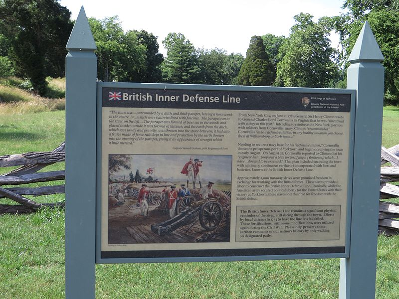 File:British Inner Defense Lines, Yorktown Battlefield, Colonial National Historic Site, Yorktown, Virginia (14239461487).jpg