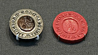 William of Louth - William of Louth's seal, now in the British Museum
