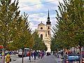 Brno, kostel Zvěstování Panny Marie a sv. Tomáše apoštola z Joštovy.JPG