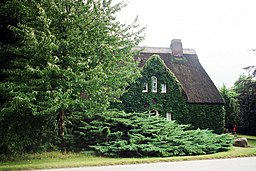 Brodersdorf, house in the green
