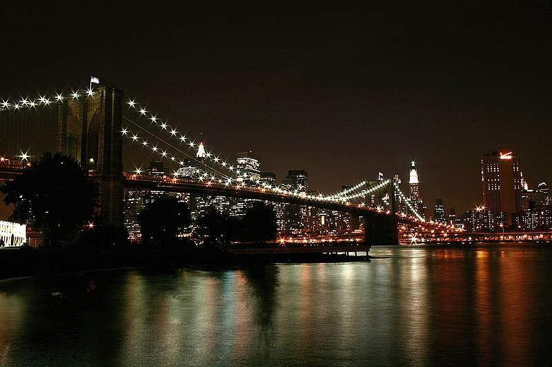 File:Brooklyn Bridge Night 2007.jpg