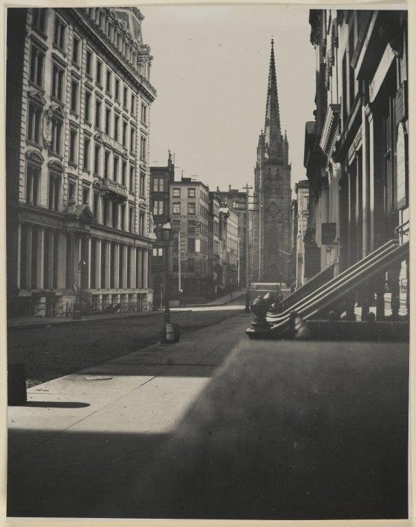 Brooklyn Museum - Wall Street Manhattan - George Bradford Brainerd