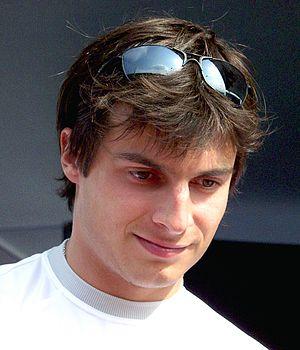 Bruno Spengler - At the Nürburgring in 2006, as a DTM driver.