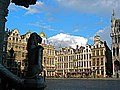 Brussels - Grand Place from Town Hall. - panoramio.jpg