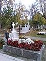 Bucuresti, Romania. Cimitirul Bellu Catolic. Mormantul Compozitorului Dan Iagnov (8 Nov. 2018).jpg