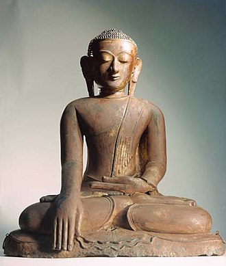 National Gallery for Foreign Art - Image: Buddha Statue NGFA
