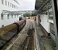 Budweiser Budvar brewery, railroad tracks 01.jpg