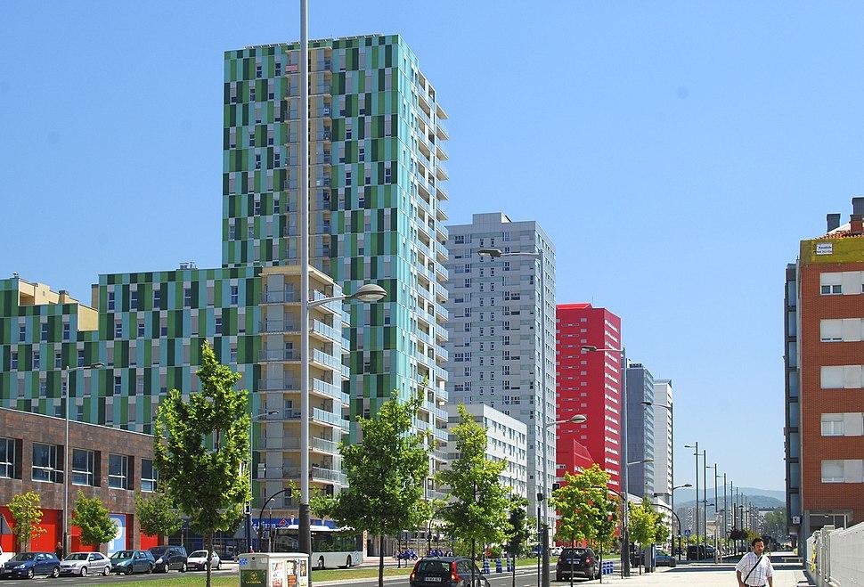 Bulevar de Salburua, Vitoria-Gastiez