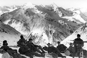 Gebirgsjäger - Gebirgsjäger group in late 1942 during the Battle of the Caucasus.