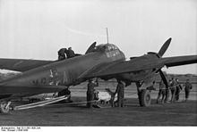 Junkers JU 88 displaying the Balkenkreuz.