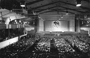 Werner-Seelenbinder-Halle - 26 August 1950: National Front congress
