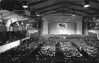 Werner-Seelenbinder-Halle - 26 August 1950: National Front congress