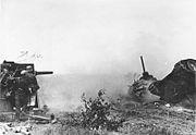 Bundesarchiv Bild 183-B21685, Russland, Flak bei Panzerabwehr