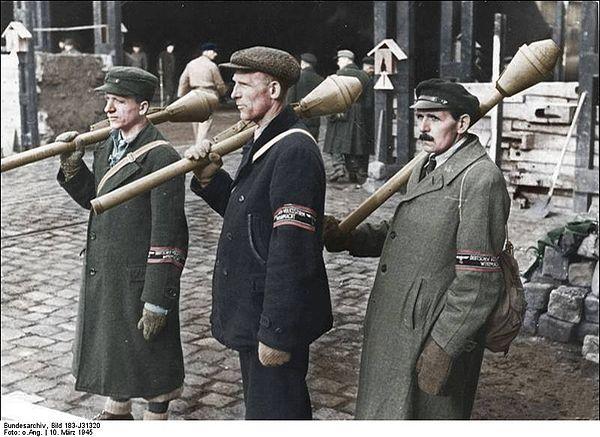 Ålderstigna försvarare av Berlin