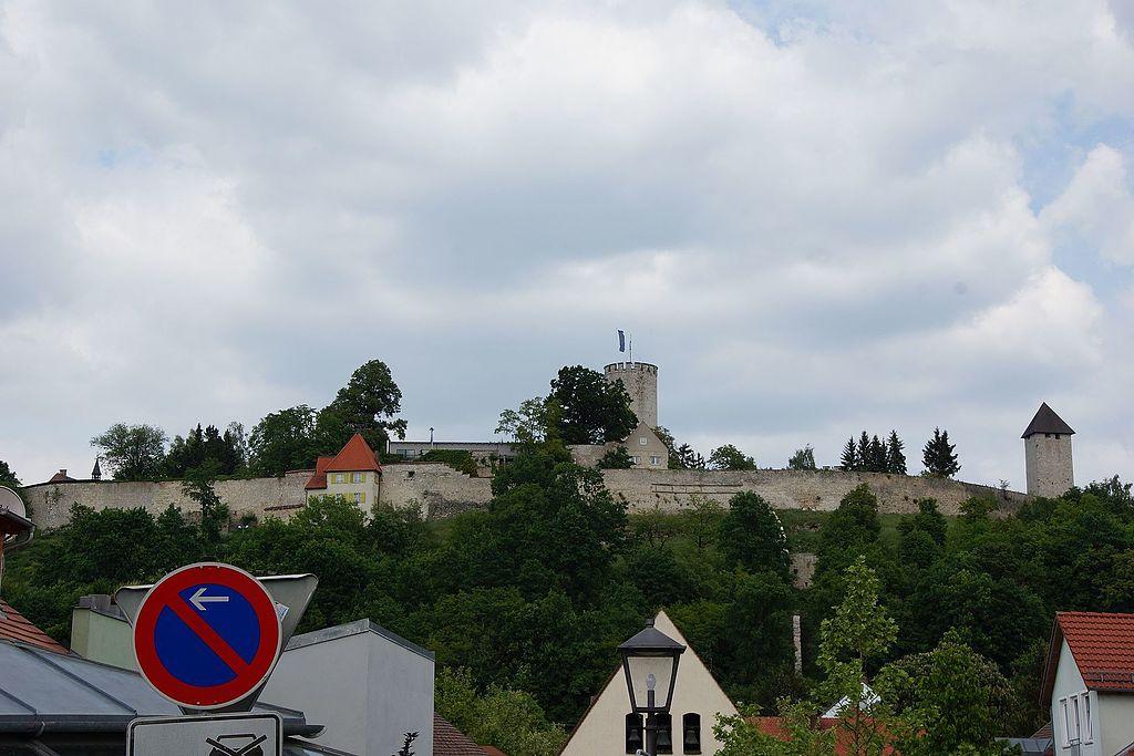 Die Burg Burglengenfeld