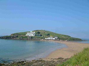Burgh Island - View from Bigbury-on-Sea