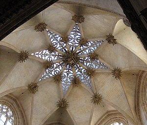Simón de Colonia - Burgos Cathedral. The interior of the chapel of the Constable.