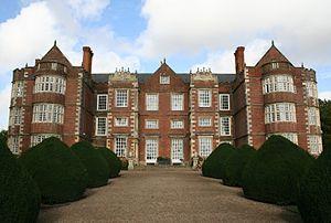 Burton Agnes Hall - The front of Burton Agnes Hall