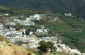 Alpujarras - Another typical Alpujarran village, Busquístar
