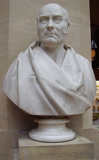 William Smith (geologist) - Bust of W. Smith, in the Oxford University Museum of Natural History