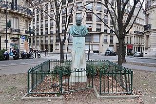 Bust of José Gervasio Artigas, Paris